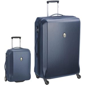 SET DE VALISES VISA DELSEY Lot 2 Trolleys MISAM : 50cm, 2 Roues +