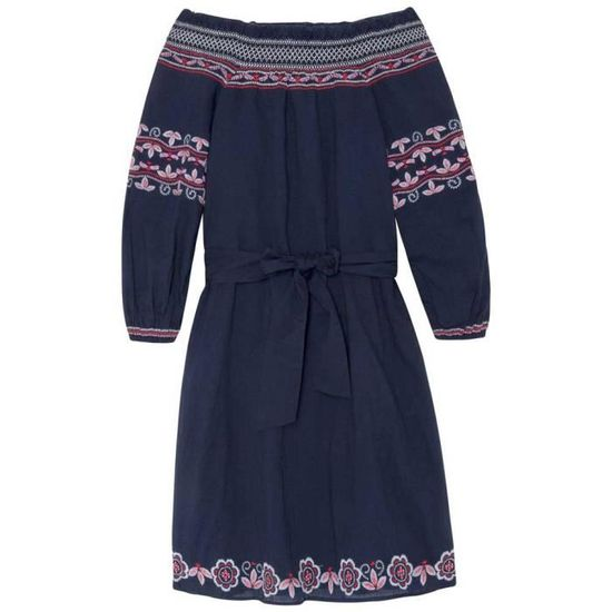 0bbbeb1122a Blanc Jeans Robes Pepe Achat Tatiana Vêtements Femme Multicoloured  waq6TZgWXn