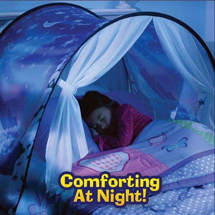Tente de Lit Ciel Etoilé et montagne Bonne nuit les enfants