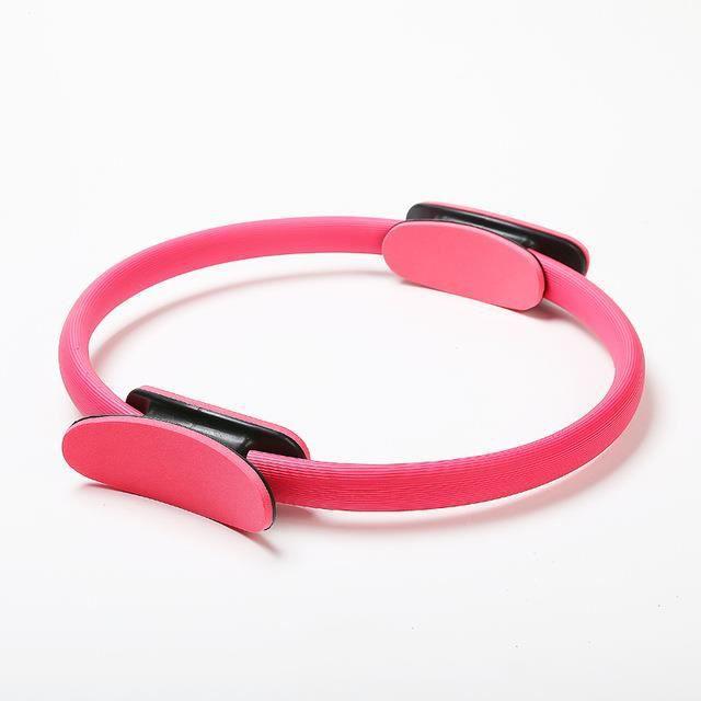 L'anneau de fitness magique, pour dames, est un accessoire de fitness parfait pour le yoga, la gymnastique et le Pilates.