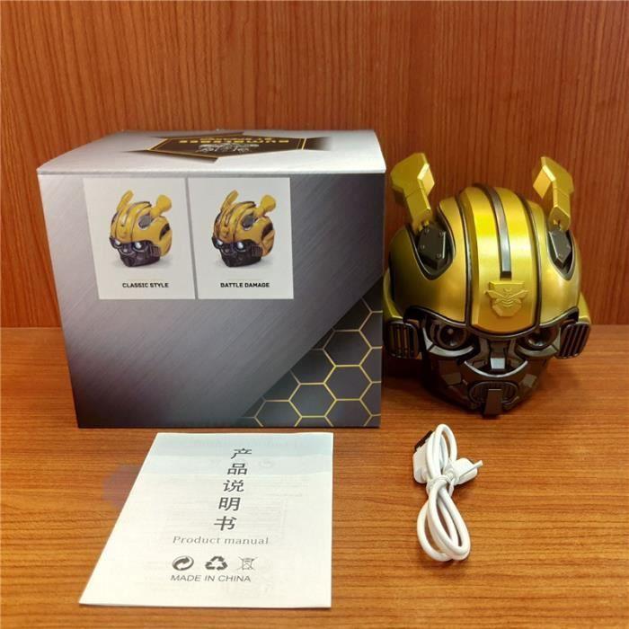 Casque Bumblebee Haut-parleur Bluetooth Fm Radio Usb Mp3 TF Caisson de basse intelligent Blue Tooth 5.0 Portable Mini Haut-parleurs