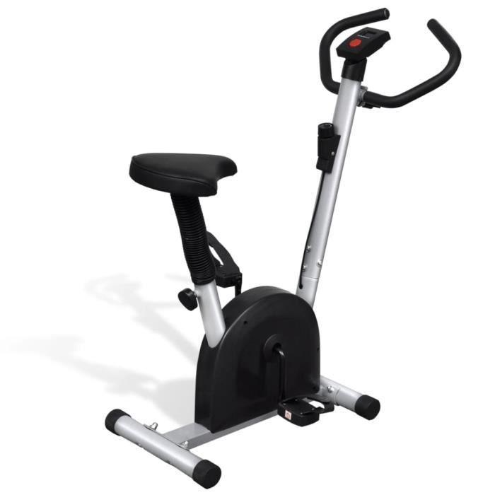 Vélo d'appartement avec selle Vélo Cardio Biking spinning d'Exercice Entraînement Gym - 92,5 x 49 x 106 cm (L x l x H)