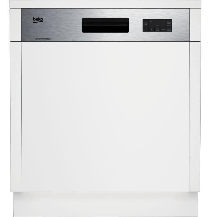 Lave vaisselle encastrable Beko PDSN25311X