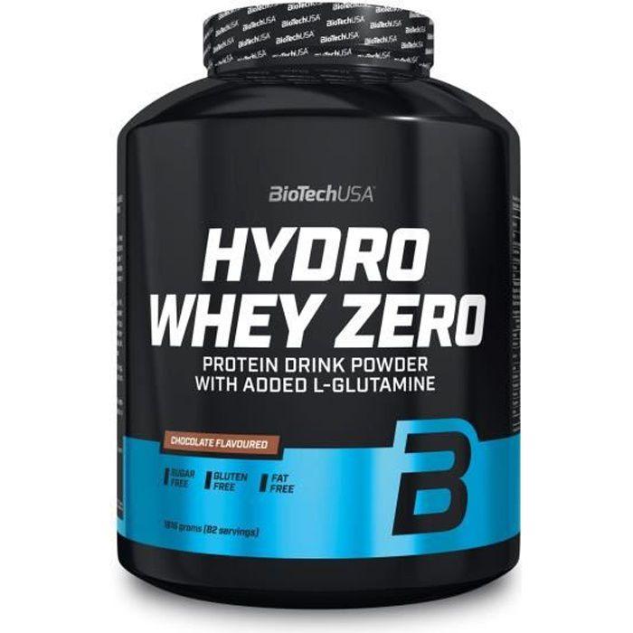 Hydro Whey Zero 1816g - Chocolat - Biotech USA