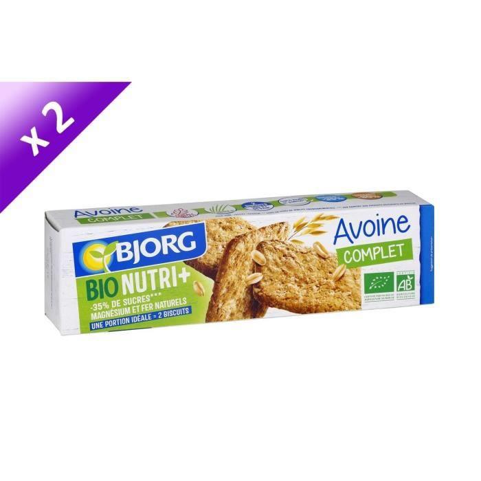 [LOT DE 2] Bjorg Biscuit Avoine Nature 130g