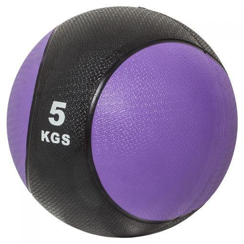 Gorilla Sports Médecine ball 5kg violette-noir