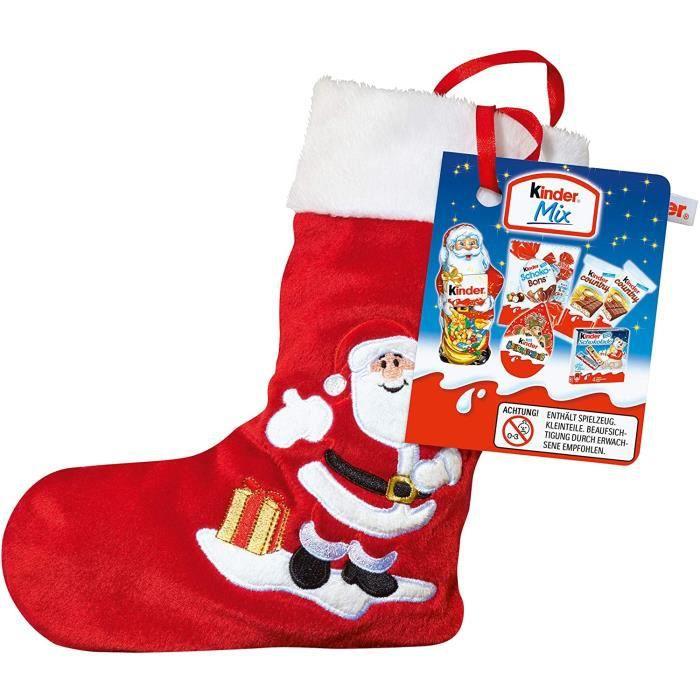 Chaussette de Noël Kinder avec mix friandises