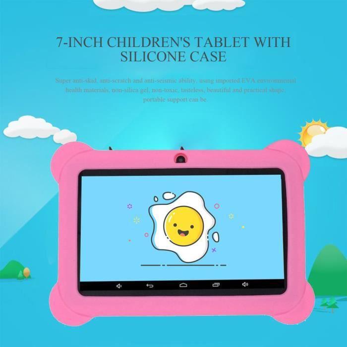 7 pouces Tablet PC, 512M+8G tablette d'apprentissage, tablette pour enfants WIFI 7 pouces étudiant Éducative
