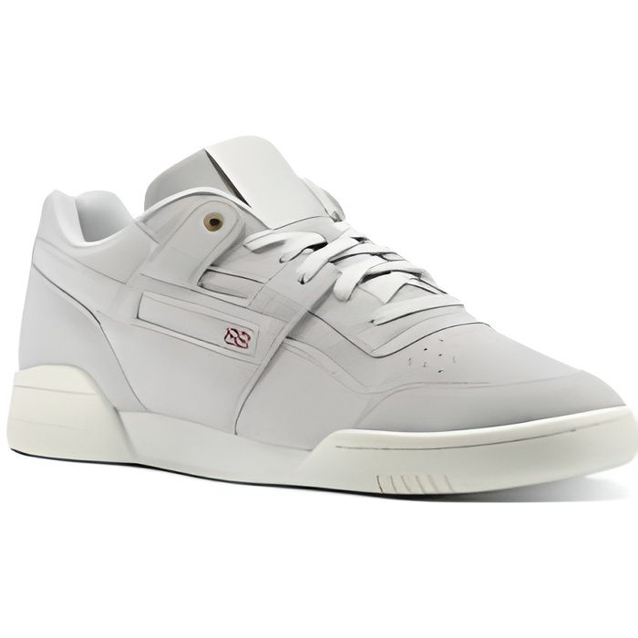REEBOK Baskets Workout Plus MCC CM9301 - Homme - Gris