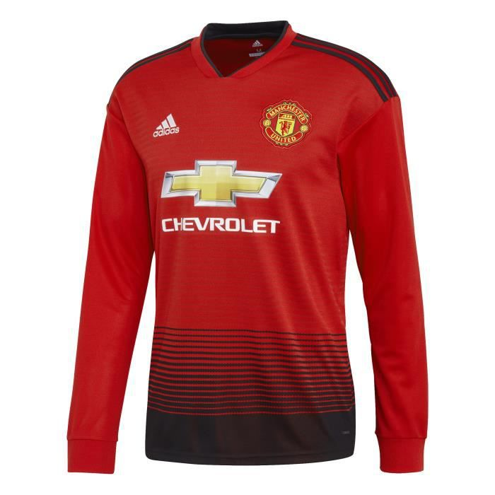 Maillot domicile manches longues Manchester United 2018/19