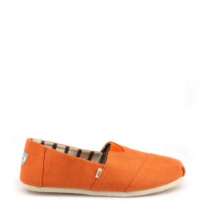 Chaussures Sneakers orange Masculin - TOMS - 10014458