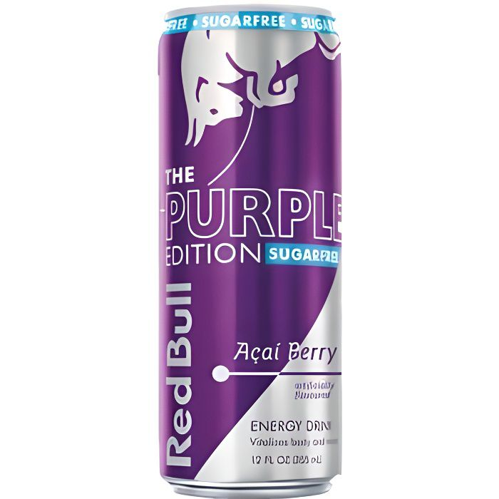 Red Bull The Purple Edition (12 x 0,25L cannette) Energy Drink