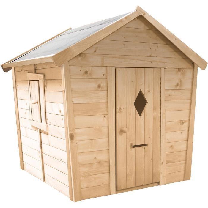 Cabane en bois pour enfant PAULINE