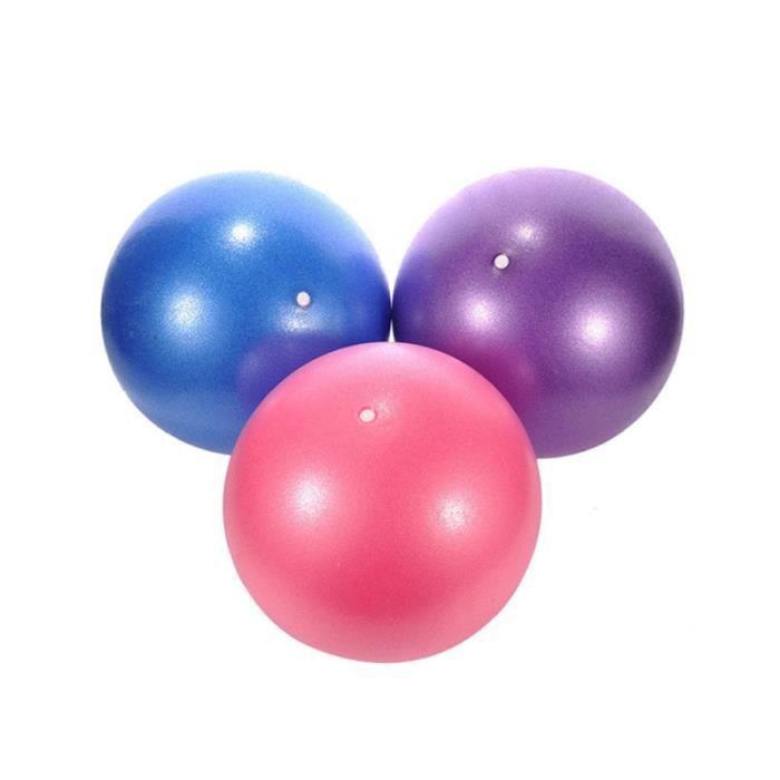 3 pcs Yoga Pilates Petit Ballon D'exercice Exercices Core Renforcement TAPIS DE SOL - TAPIS DE GYM - TAPIS DE YOGA