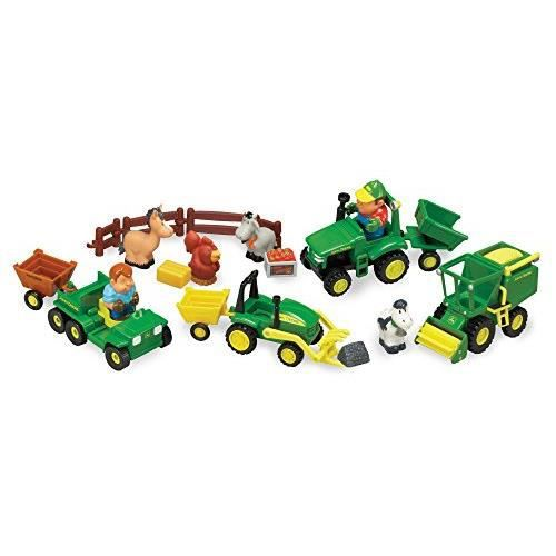 TOMY John Deere 1st Farming Fun, Fun on the Farm Playset