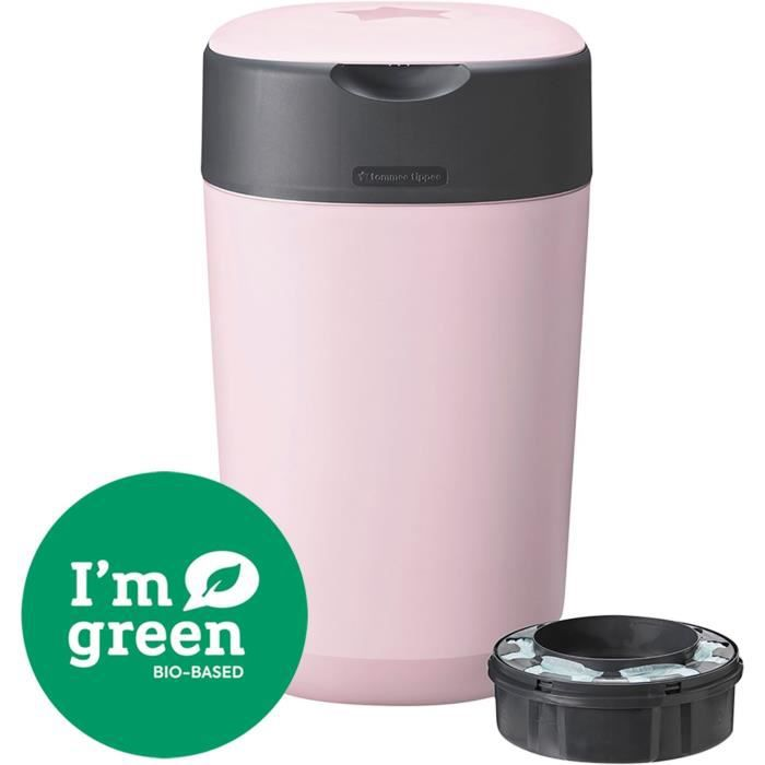 TOMMEE TIPPEE Bac à couches Twist & click Rose FFP