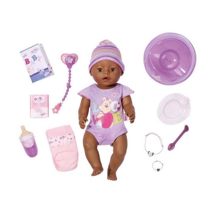 Zapf Creation 822029 Zapf Creation - BABY Born Interactif - -Ethnic-