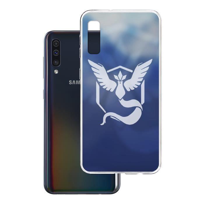 Coque Samsung Galaxy A50 - Pokemon Go Team Bleue G