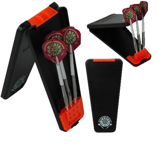 etui delta box noir orange achat vente accessoire fl chette cdiscount. Black Bedroom Furniture Sets. Home Design Ideas
