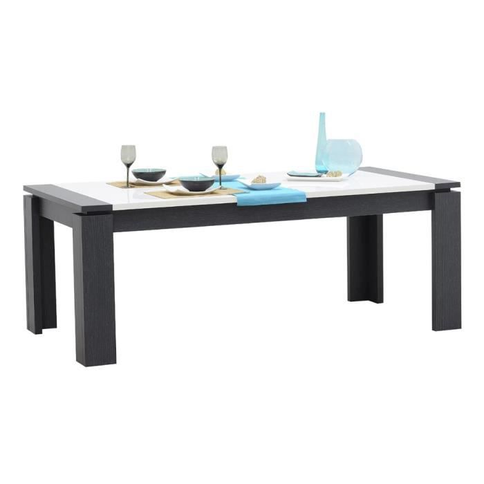 table quartz achat vente table a manger seule table quartz cdiscount. Black Bedroom Furniture Sets. Home Design Ideas