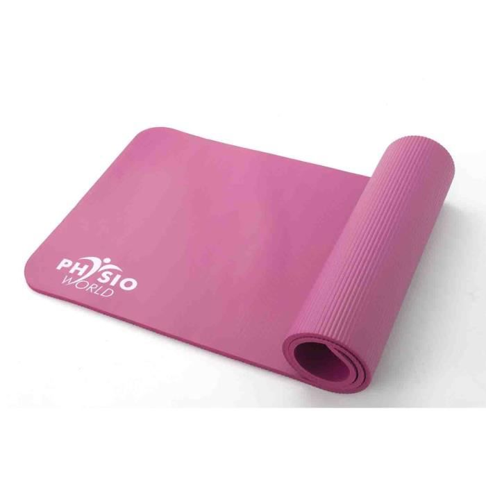 Tapis De Sport Pais En Mousse Nbr Yoga Pilates Fitness Physioworld 10mm Achat Vente