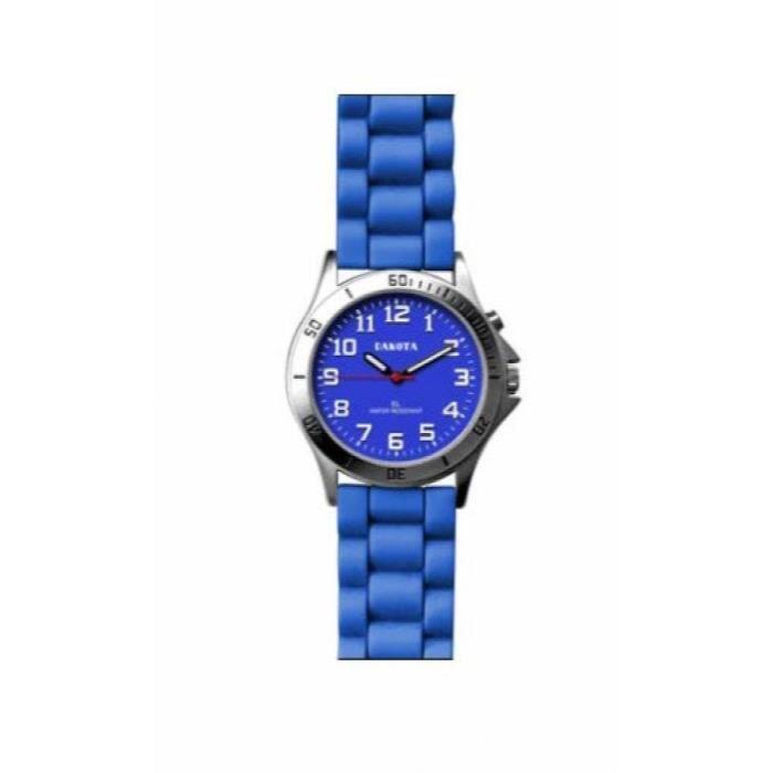 BRACELET DE MONTRE Dames Couleur silicone El montre-bracelet FSGG5