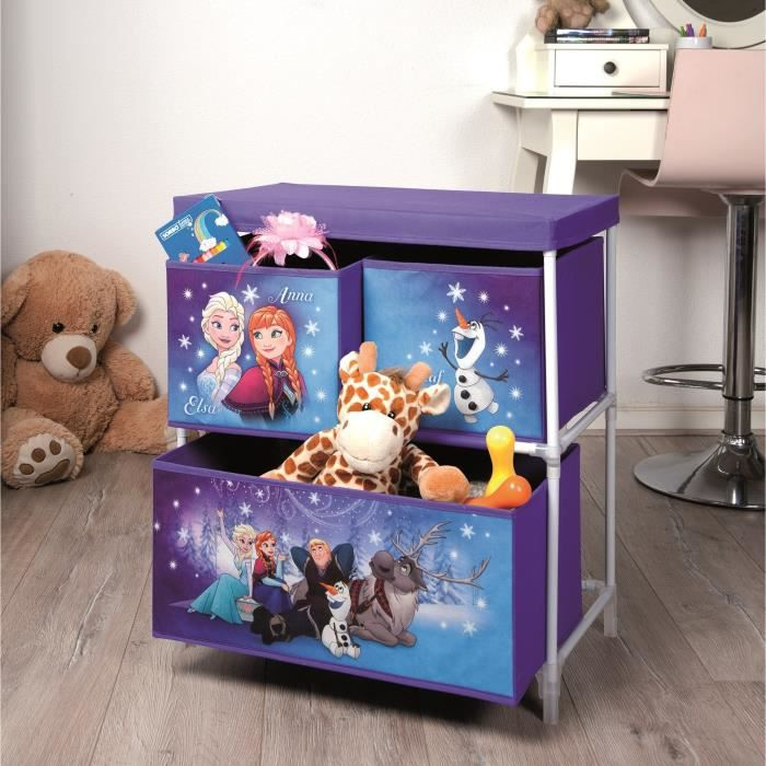 la reine des neiges meuble de rangement achat vente. Black Bedroom Furniture Sets. Home Design Ideas