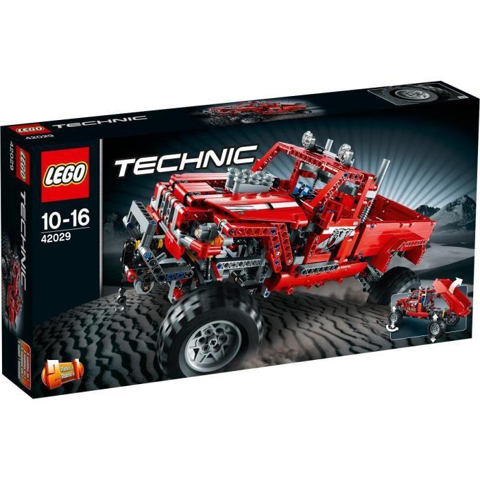 ASSEMBLAGE CONSTRUCTION LEGO® Technic 42029 Le Pick-Up Customisé