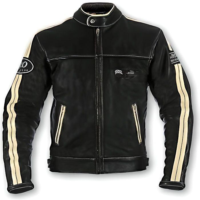 A-pro Textile Blouson Moto Femme Termique Protections CE /étanche Noir L