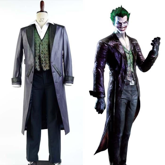 batman arkham origins blackgate joker d guisement jokercosplay costume achat vente. Black Bedroom Furniture Sets. Home Design Ideas