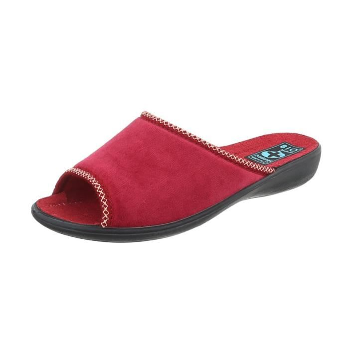 femmes chaussures Loisirs Chaussures chaussons chaussons rouge 36