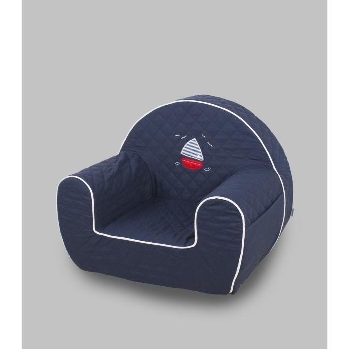 fauteuil b b marin achat vente chauffeuse pouf 2009881634029 cdiscount. Black Bedroom Furniture Sets. Home Design Ideas