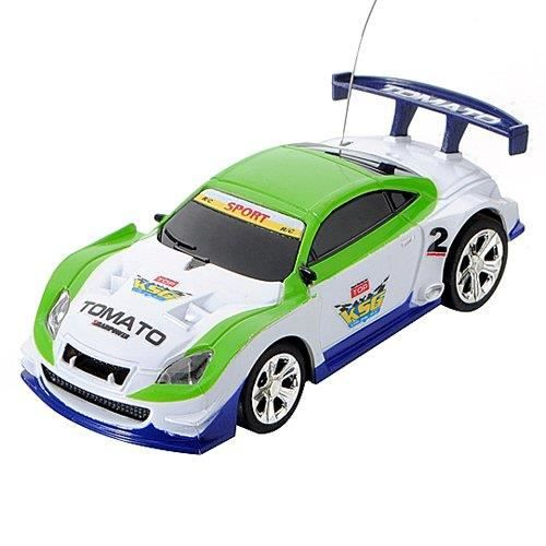 mini miniature voiture vehicule course jouet rc radiocommande telecommande vert blanc achat. Black Bedroom Furniture Sets. Home Design Ideas