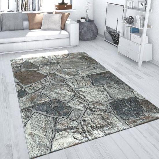 Moderne Motif Floral Tapis court velours gris Motif Tapis Petit Large Living Room carpet neuf