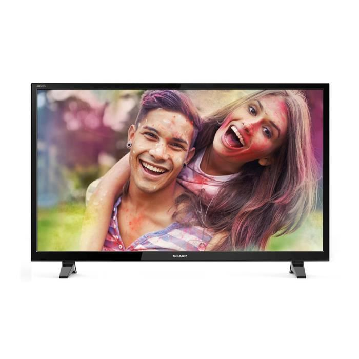 SHARP SH18LC48CFF6002E - TV LED Full HD 1080p - Ecran 121cm (48'') - SMART TV - WIFI - HDMI - Noir