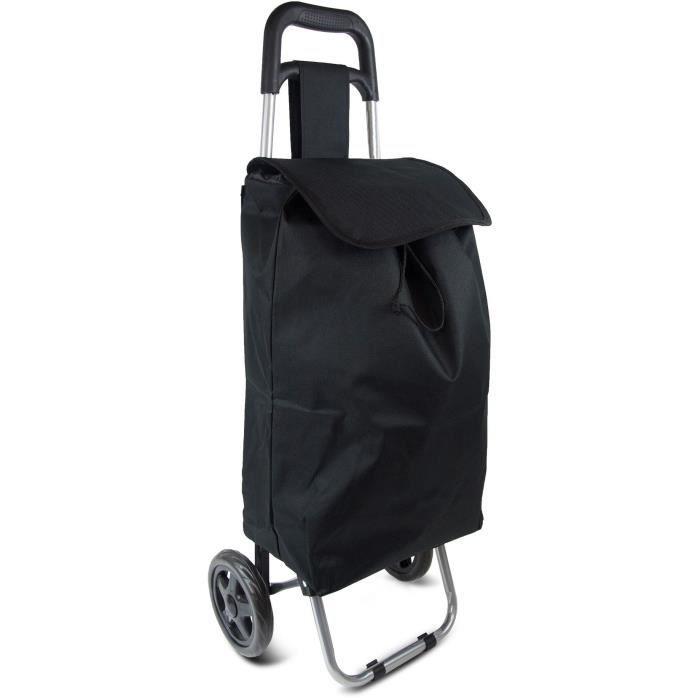 KINSTON Chariot de Course 30L Textile Noir