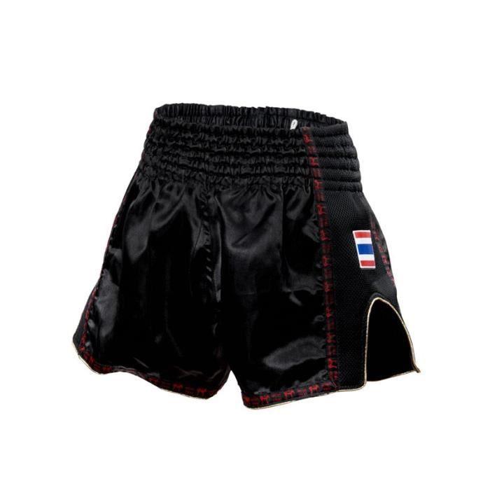 LEONE Short Kick Thaï Bangkok - Homme - Noir