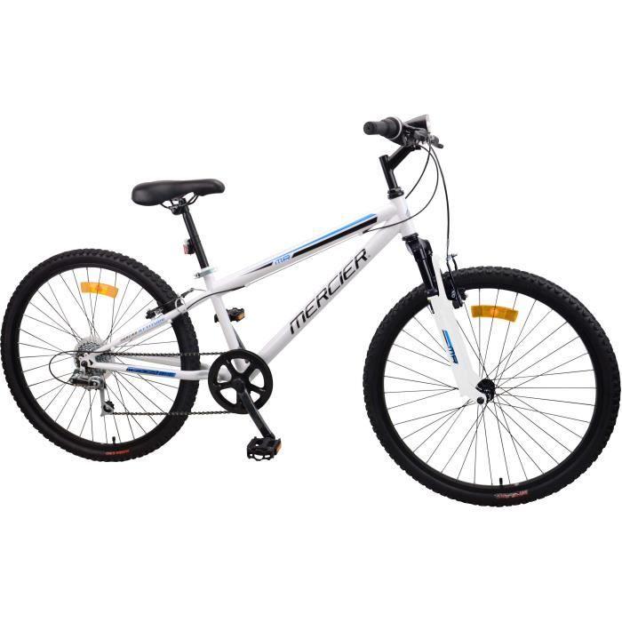 MERCIER Vélo 26'' Cadre Slooping 6 vitesses - Mixte - Blanc