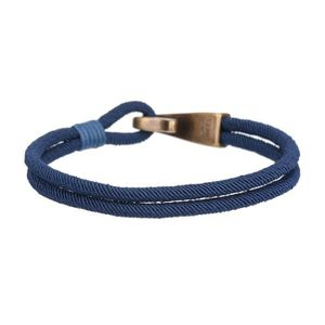 BRACELET - GOURMETTE WF 1903 Bracelet Homme WFS1802B bleu marine