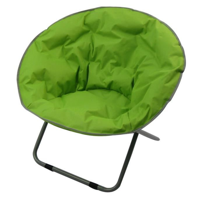 fauteuil lune pliant prix pas cher cdiscount. Black Bedroom Furniture Sets. Home Design Ideas
