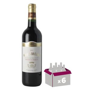 VIN ROUGE Haut Médoc Club des Sommeliers - Vin de Bordeaux -