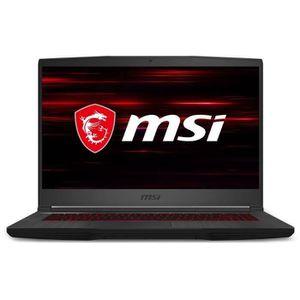 ORDINATEUR PORTABLE MSI PC Portable - GF65 Thin 9SEXR-229FR - 15,6