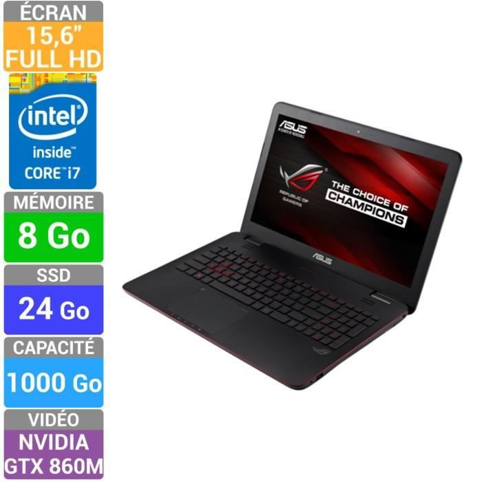 asus rog pc portable gamer g551jm cn102h prix pas cher. Black Bedroom Furniture Sets. Home Design Ideas