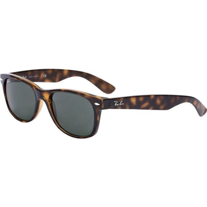 ray ban lunettes de soleil wayfarer marron orb2132 mixte achat vente lunettes de soleil. Black Bedroom Furniture Sets. Home Design Ideas