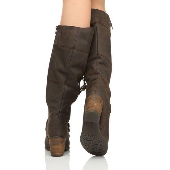 HUSH PUPPIES Bottes Cuir Moorland 16 boots Femme femme