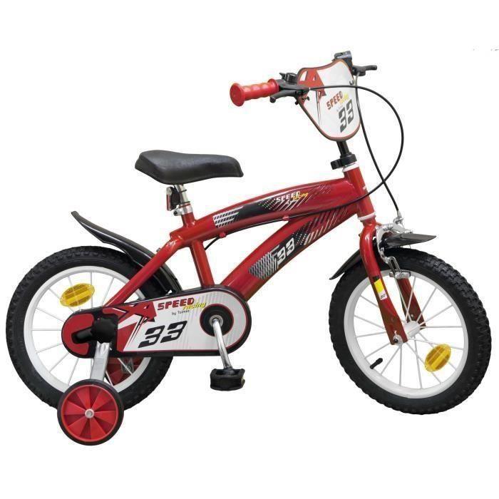 "VÉLO ENFANT Vélo 16"" Speed - Garçon - Rouge"