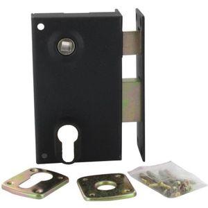 SERRURE - BARILLET Sûreté verticale à fouillot de 7 mm à trou de cyli