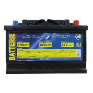 BATTERIE VÉHICULE Batterie 12V 70AH 510A (EN) : Auto7