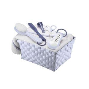 SET DE SOIN BEABA Corbeille toilette mineral - Bleu