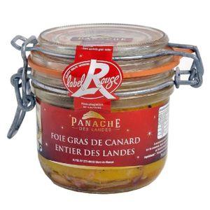 PATÉ FOIE GRAS PANACHE DES LANDES Foie Gras de Canard Entier Labe
